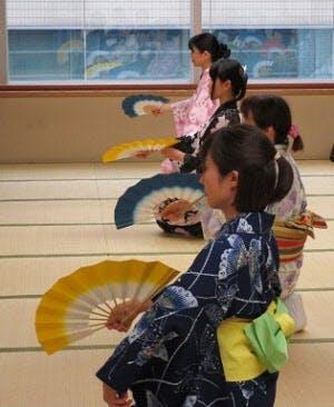 日本舞踊練習風景