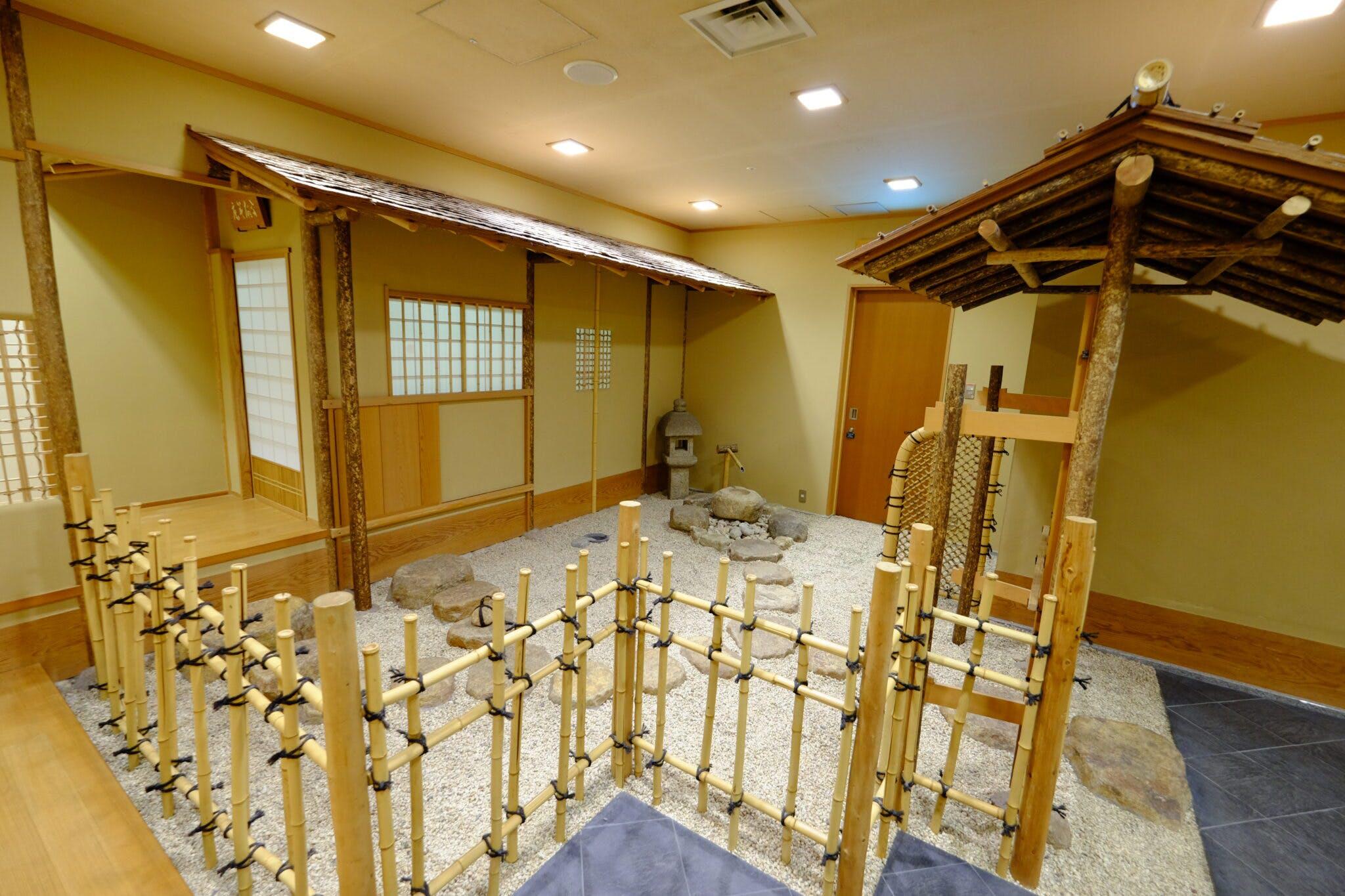 茶室なごみ庵 前庭(たづくり10階)