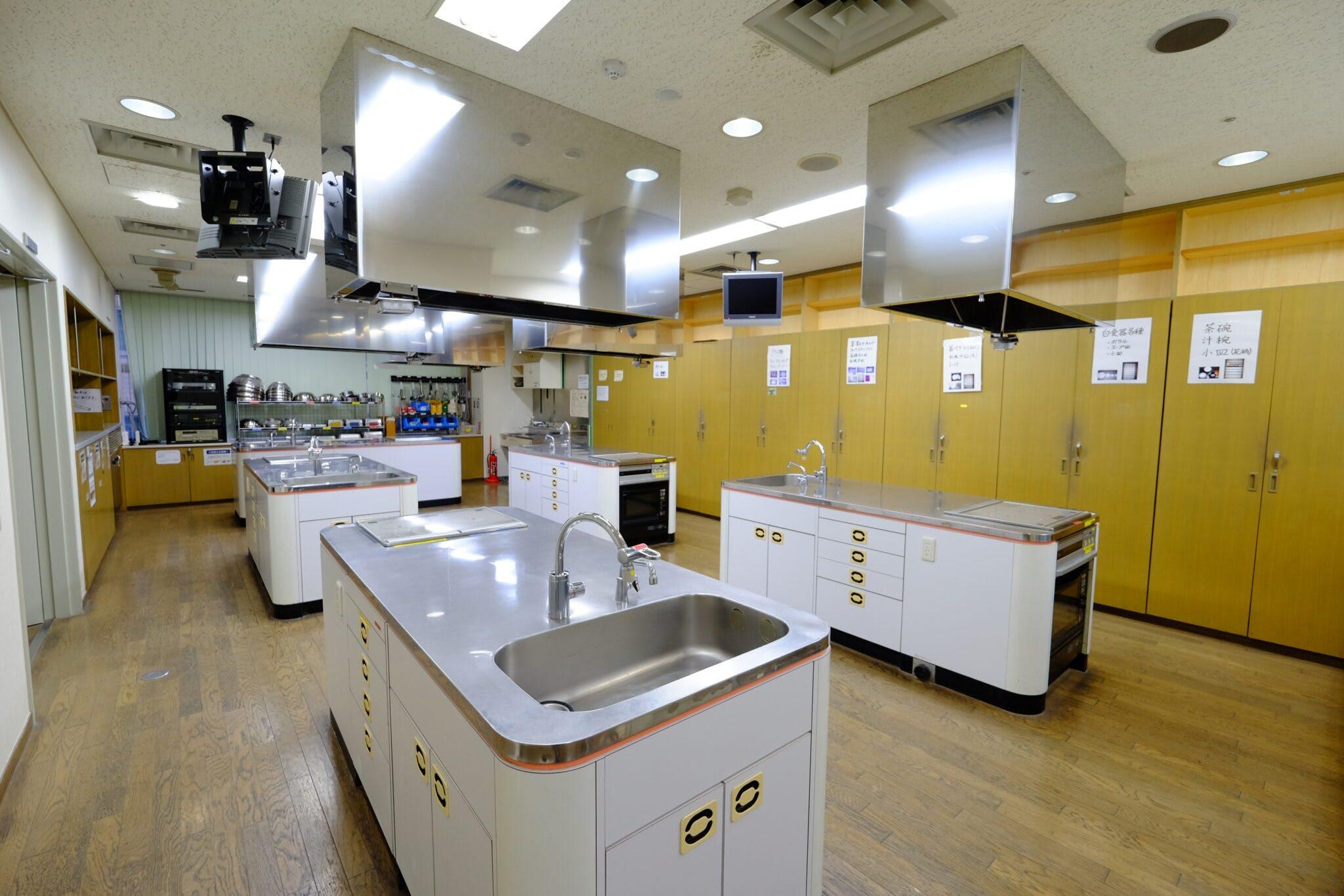 調理実習室(たづくり10階)