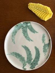 陶芸板皿作品